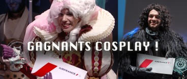 Cosplay contests winners