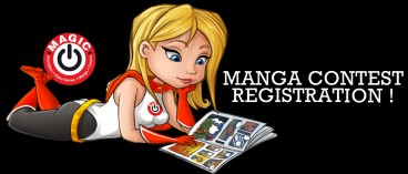 Launching of the big MAGIC manga contest !