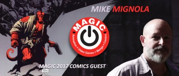 Mike Mignola, our first MAGIC 2017 guest!