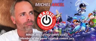 Michel Ancel will attend MAGIC 2017 !