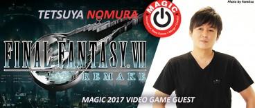Tetsuya Nomura will attend MAGIC 2017 !