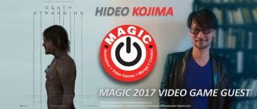 Hideo Kojima will attend MAGIC 2017 !