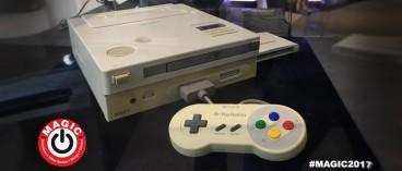 La leggendaria Nintendo Playstation al MAGIC 2017 in esclusiva europea!