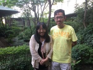 Rencontre Harumo Sanazaki