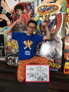 Vinhnyu chez Shueisha - Shonen Jump