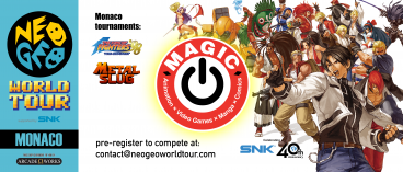 Neo Geo World Tour at MAGIC 2018!