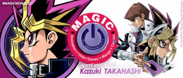 Kazuki Takahashi sera membre du jury du Magic International Manga Contest 2019 !