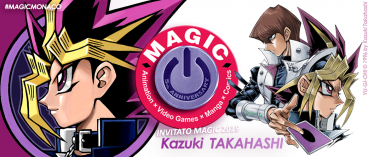 Kazuki Takahashi sarà membro della giuria del Magic International Manga Contest 2019!