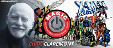 Le légendaire Chris Claremont sera au MAGIC 2019 !
