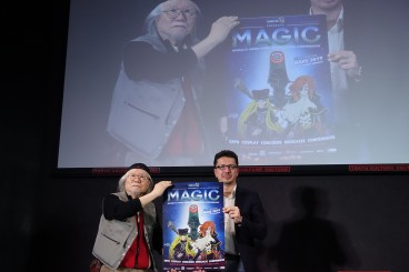 The MAGIC reveals the poster of its 5th anniversary in live from Tokyo and announces the attendance of its author: the manga master, Leiji Matsumoto!