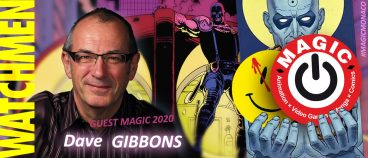 Dave Gibbons, first MAGIC guest !