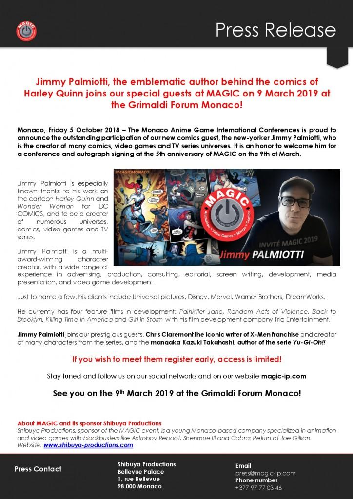Jimmy Palmiotti CP_MAGIC EN-001